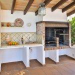 Villa Mallorca MA5549 Grillbereich