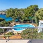 Villa Mallorca MA5549 Meerblick vom Balkon