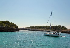 Cala Sanau auf Mallorca