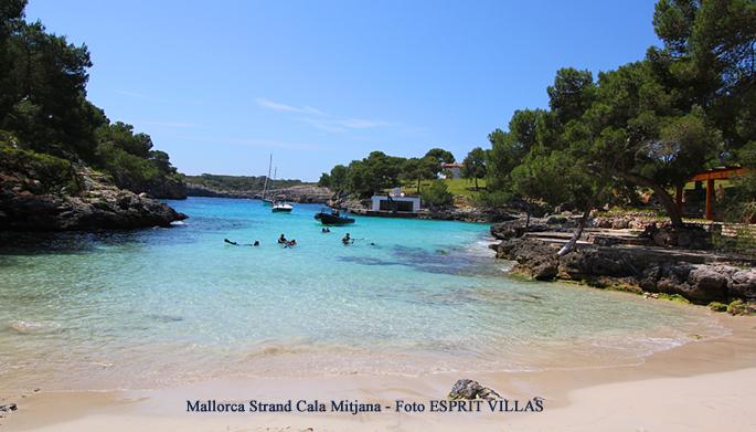 Mallorca Strand Cala Mitjana, Foto ESPRIT VILLAS