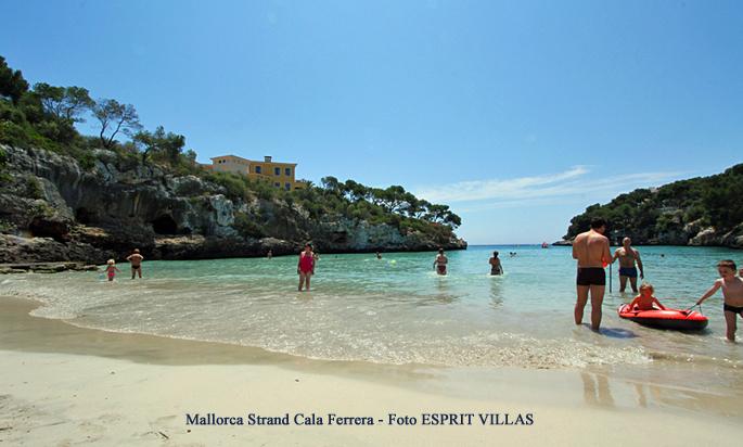 Mallorca Strand Cala Ferrera, Foto ESPRIT VILLAS
