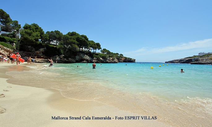 Mallorca Strand Cala Esmeralda, Foto ESPRIT VILLAS