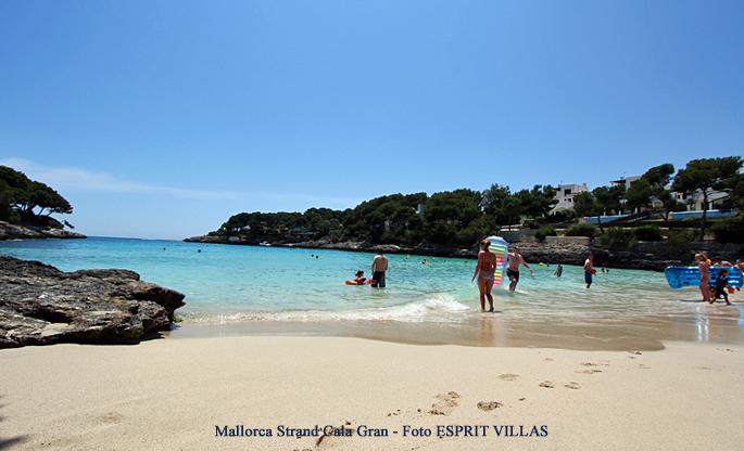 Mallorca Strand Cala Gran, Foto ESPRIT VILLAS