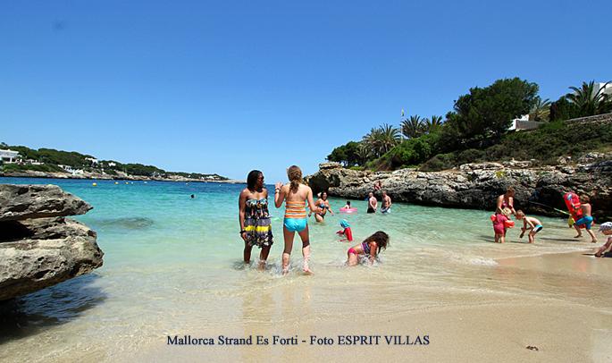Mallorca Strand Es Forti, Foto ESPRIT VILLAS