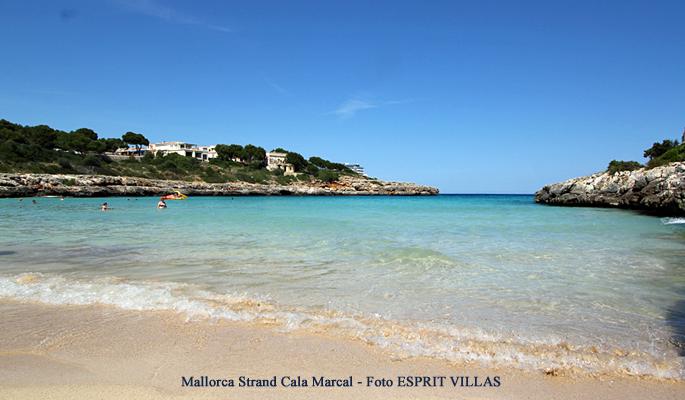 Mallorca Strand Cala Marcal, Foto ESPRIT VILLAS