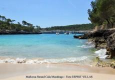 Strand von Cala Mondrago