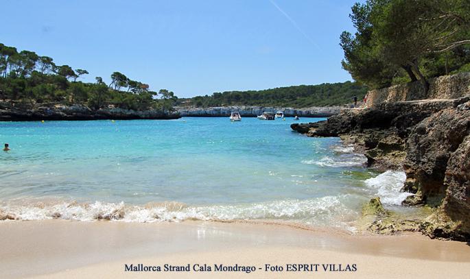 Mallorca Strand Cala Mondrago, Foto ESPRIT VILLAS