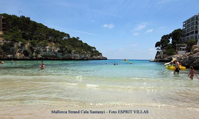 Mallorca Strand Cala Santanyi, Foto ESPRIT VILLAS