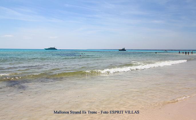 Mallorca Strand Es Trenc, Foto ESPRIT VILLAS